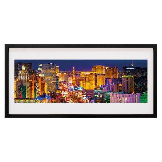 Quadro Decorativo Las Vegas Strip 100x50cm
