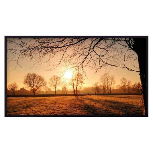 Quadro Decorativo Paisagem Nascer do Sol no Campo 150x80 cm