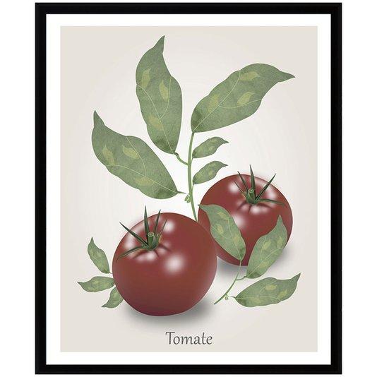 Quadro Decorativo para Cozinha Tomates 30x40cm