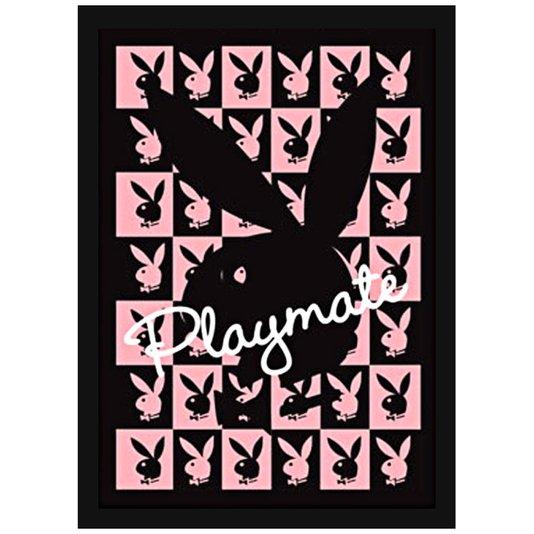 Quadro Decorativo Poster 3D Coelhinhas da Playboy Playmate 50x70cm