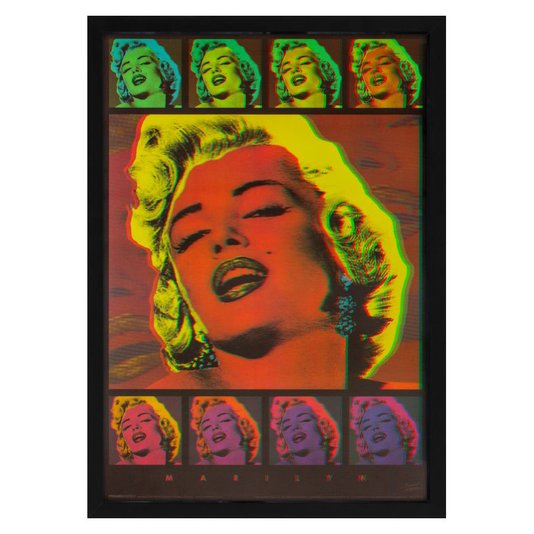 Quadro Decorativo Poster 3D da Diva Marilyn Monroe 50x70cm