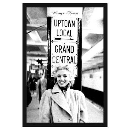 Quadro Decorativo Poster Emoldurado Marilyn Monroe 60x90cm