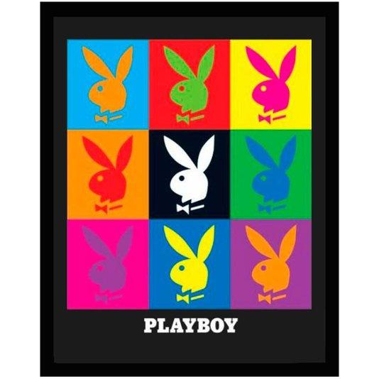 Quadro Decorativo Poster Playboy s/ Vidro 40x50cm