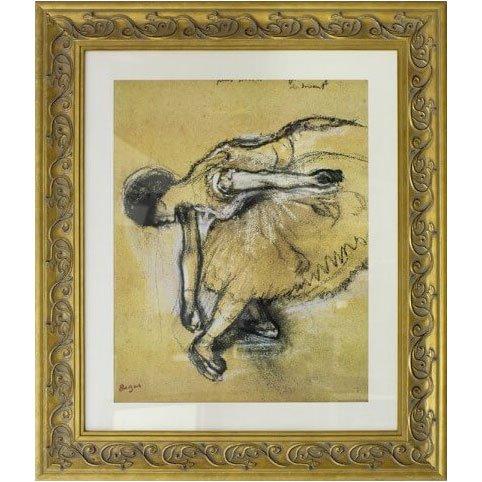 Quadro Decorativo Reprodução de Obra de Arte Dancer Por Edgar Degas 80x90cm