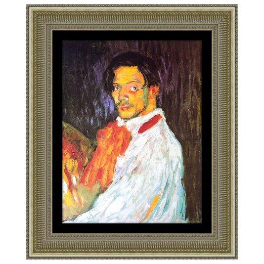 Quadro Decorativo Reprodução de Obra de Arte Eu Picasso 80x100cm