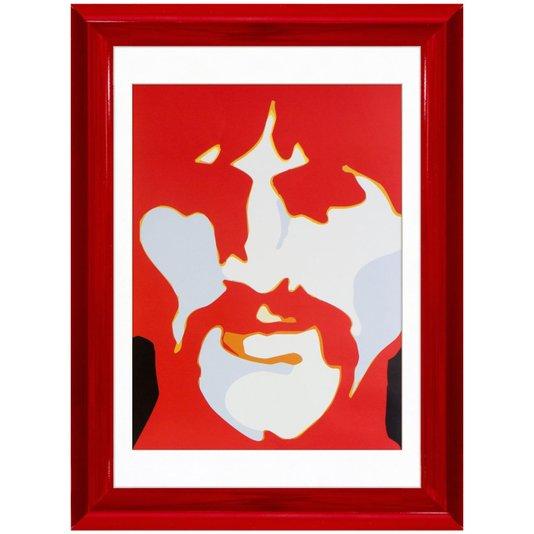 Quadro Decorativo The Beatles George Harrison 40x50cm