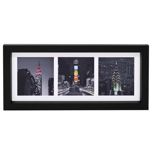 Quadro Decorativo Torres de New York 55x25cm