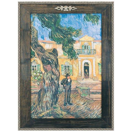 Quadro Decorativo Van Gogh Reprodução de Obra de Arte em Tela 90x130cm