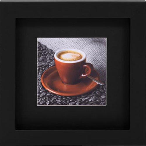 Quadro Decorativo Xícara com Café 30x30cm