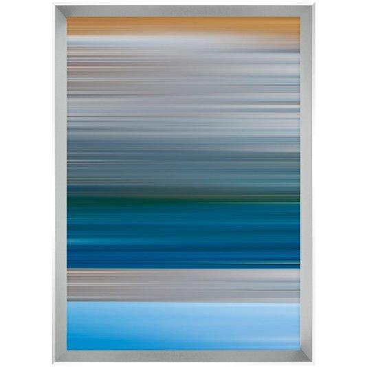 Quadro Decor Desenho Abstrato Linhas Horizonte 70x100 cm