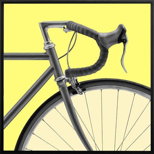Quadro Dorival Moreira Tela Canvas Bicicleta Speed Pop Art