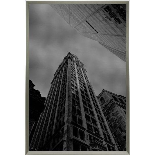 Quadro em Preto e Branco Arquitetura de Edifícios 105x155 cm