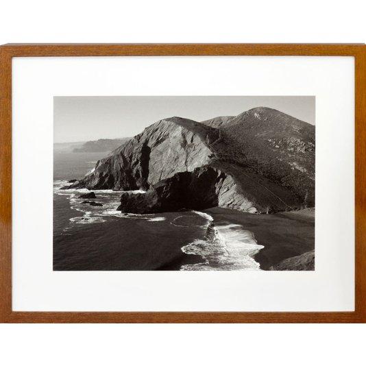 Quadro em Preto e Branco Paisagem Tennessee Cove 40x30 cm
