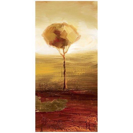 Quadro em Tela Reprodução de Arte Árvore 30x60cm
