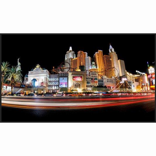 Quadro Las Vegas Strip Nevada a Noite 120x70cm