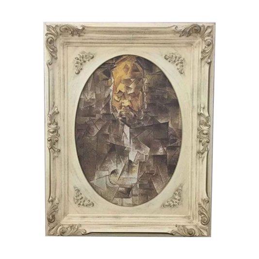 Quadro Obra de Arte Pablo Picasso Retrato de Ambroise Vollard 75x95cm