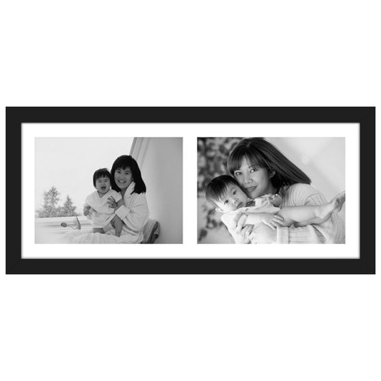Quadro Painel de Fotos com Capacidade para 2 Fotos 50x20cm