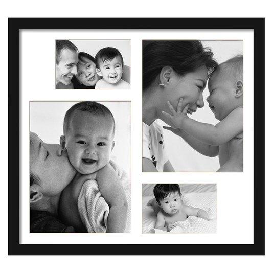 Quadro Painel de Fotos para 4 Fotos 50x40cm