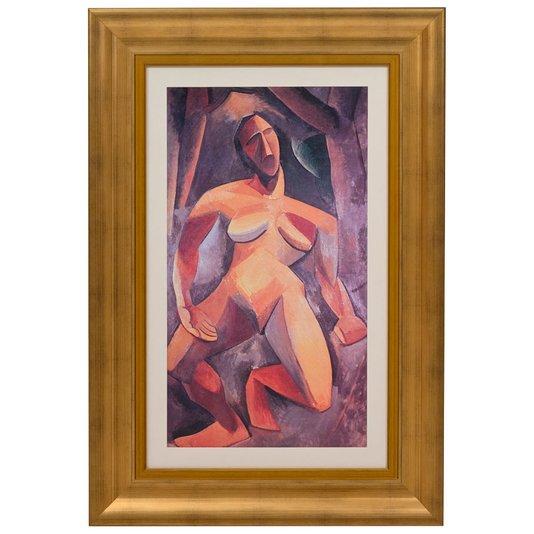 Quadro Reprodução de Obra de Arte Driade por Pablo Picasso 70x100cm