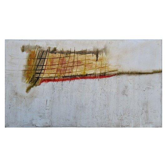Quadro Tela Abstrato Pintura sobre Tela Ágata 130x70cm DPAGA014