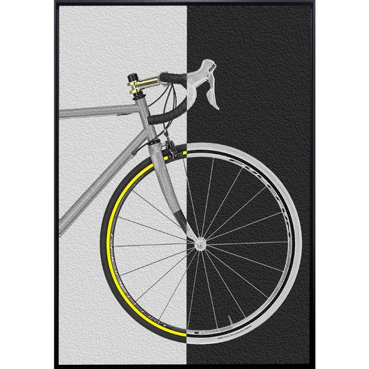 Quadro Tela Decorativa Bicicleta Speed por Dorival Moreira