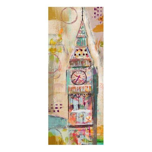 Quadro Tela Decorativa Londres Torre Big Ben 50x120cm