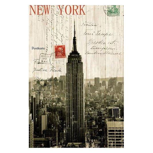Quadro Tela Impressa Empire State Building Nova York 60x90cm