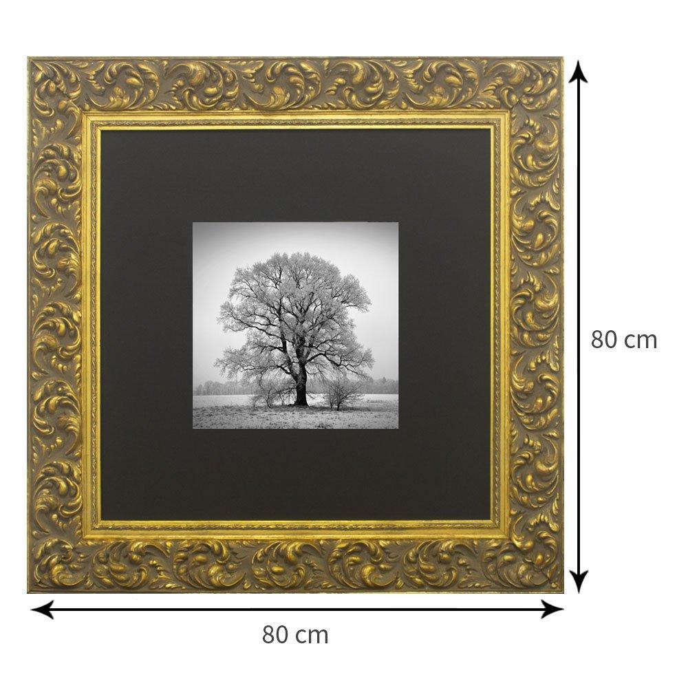 Tamanho do quadro: 80 x 80 cm.