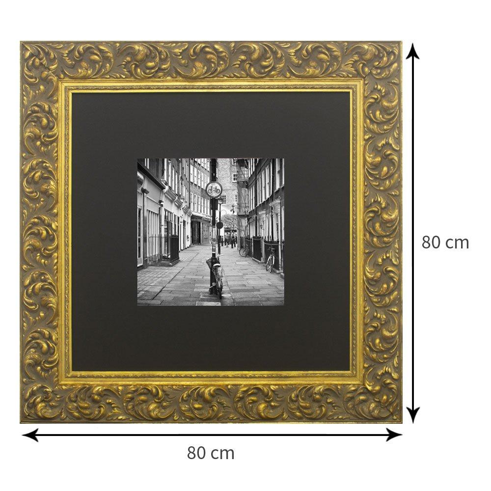 Tamanho do quadro: 80x80 cm.
