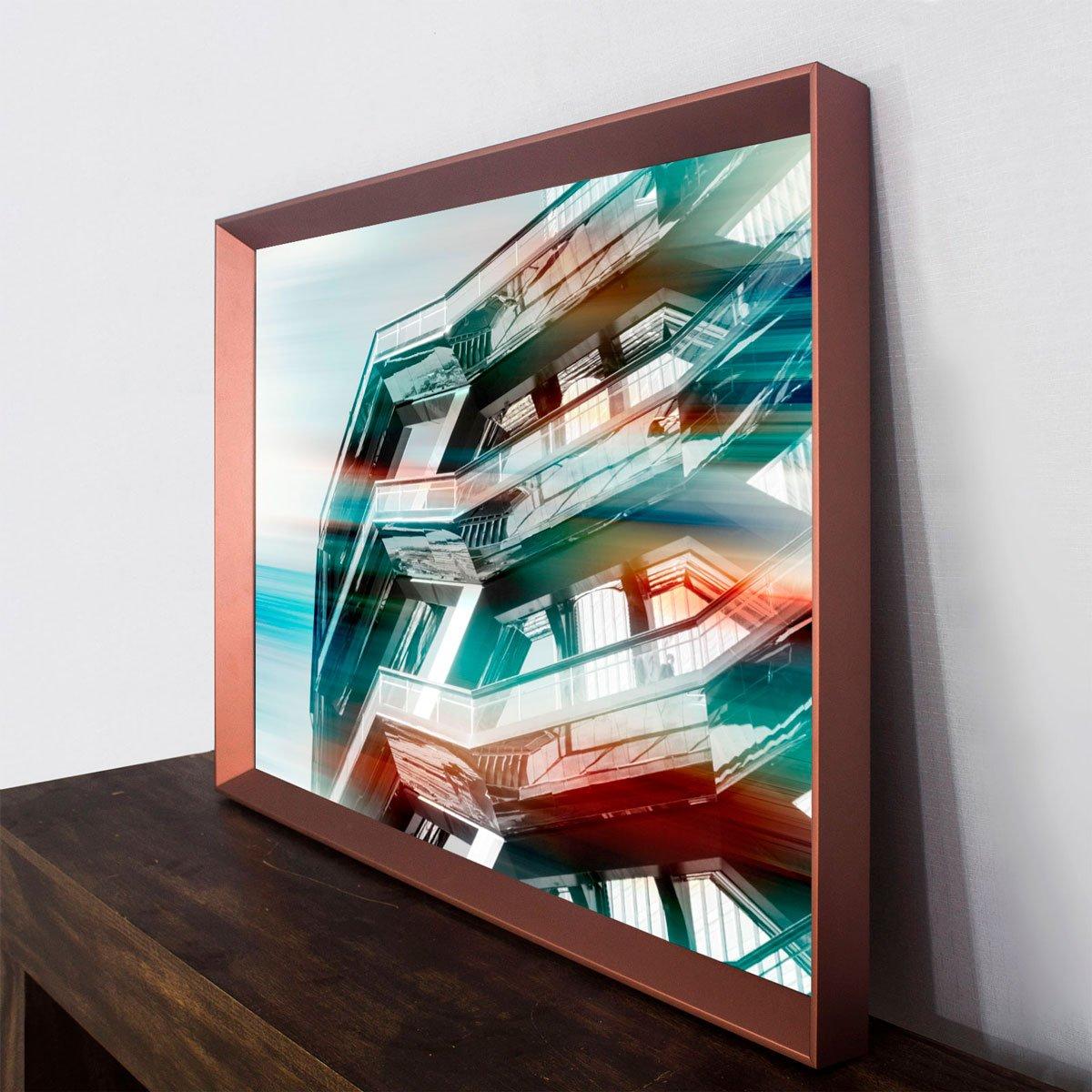 Quadro Decorativo Arquitetura Edfício Hudson Yards 95x65 cm