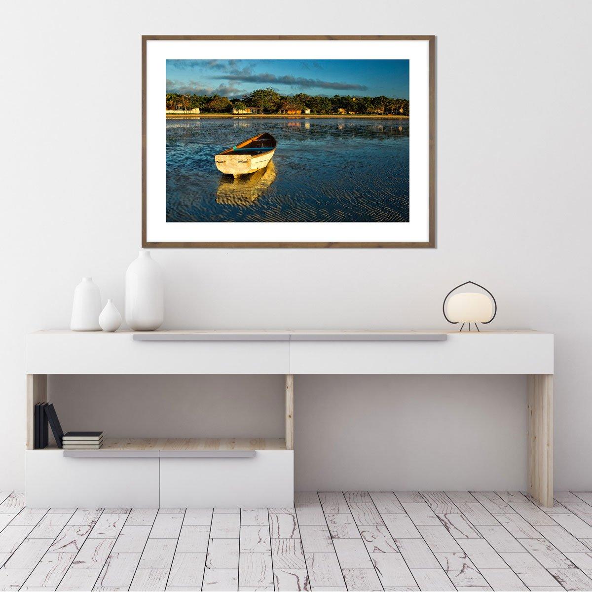 Quadro Decorativo Paisagem Lago por Dorival Moreira 140x100 cm