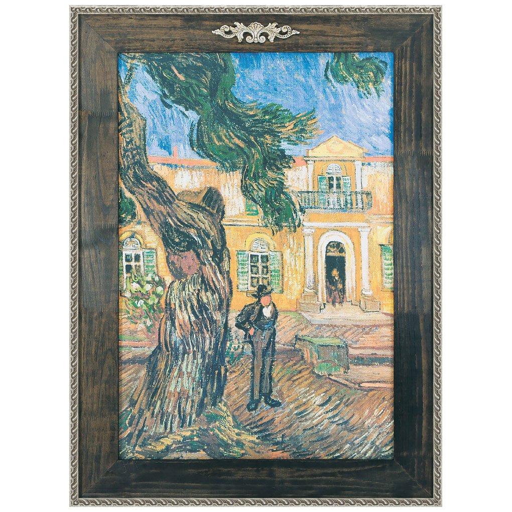 2bd3263df Quadro Decorativo Van Gogh Reprodução de Obra de Arte em Tela 90x130cm ...