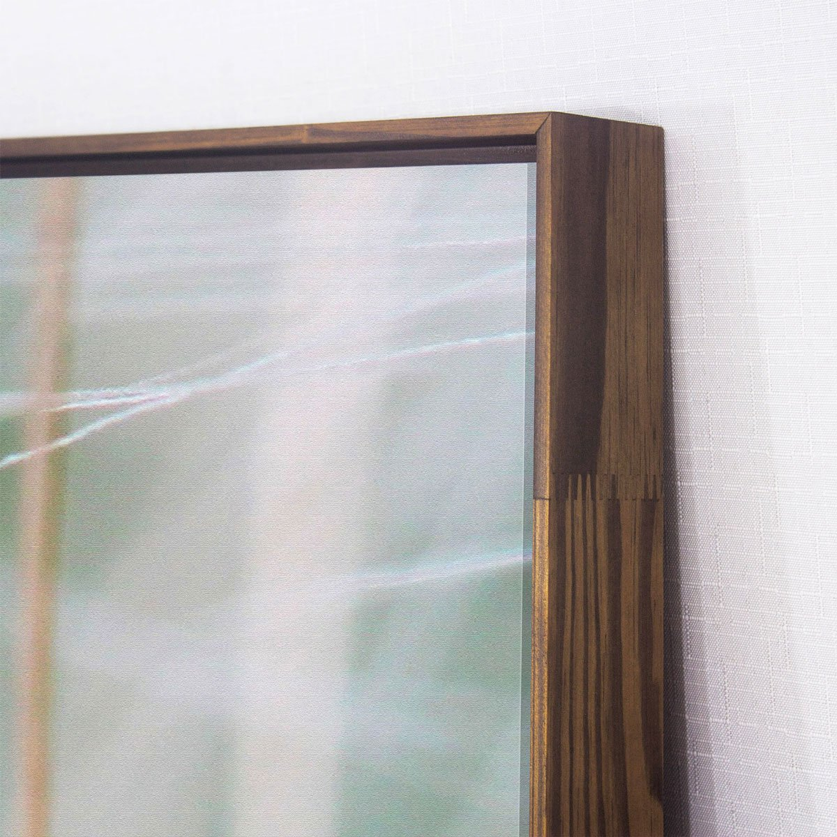 Quadro Dente de Leão em Tela Canvas com Moldura 70x70 cm