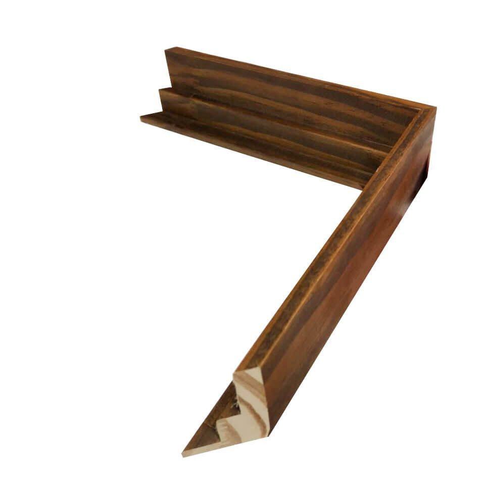 Moldura alto padrão, modelo flutuante especial para emoldurar tela canvas.
