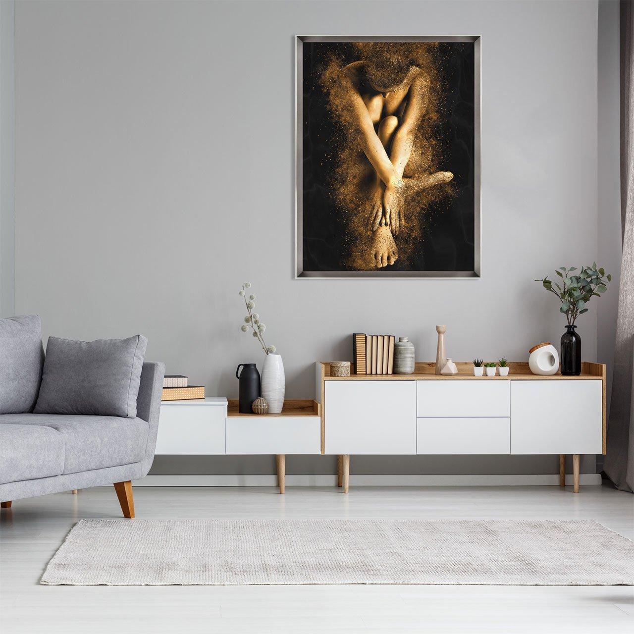 Arte Moderna Mulher Abstrata.