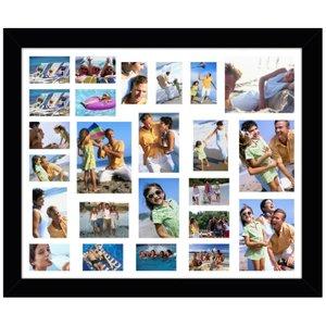Quadro Painel de Fotos com Capacidade para 24 Fotos 110x90cm