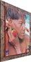 Quadro Decorativo Indígena Impressão Digital 95x115cm