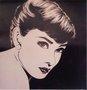 Gravura para Quadros Audrey Hepburn 70x70cm
