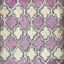 Gravura para Quadros Arte Abstrata Rosa e Creme 15x15cm