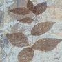 Gravura para Quadros Folhas e Rosetas III 30x30cm