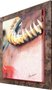 Quadro Decorativo Indígena Colar de Dentes 75x95cm