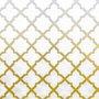 Gravura Abstrata para Quadros Rede Amarela I de Jairo Rodriguez 30x30cm