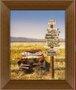 Quadro Decorativo Carro Abandonado Route 66 - 50x60cm